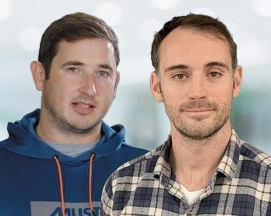 Nick Houchin and Chris Holliman, Musto