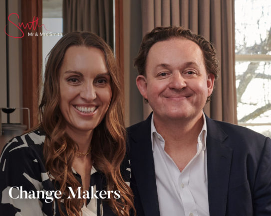 Make what others imagine: the future of sustainable travel - James and Tamara Lohan