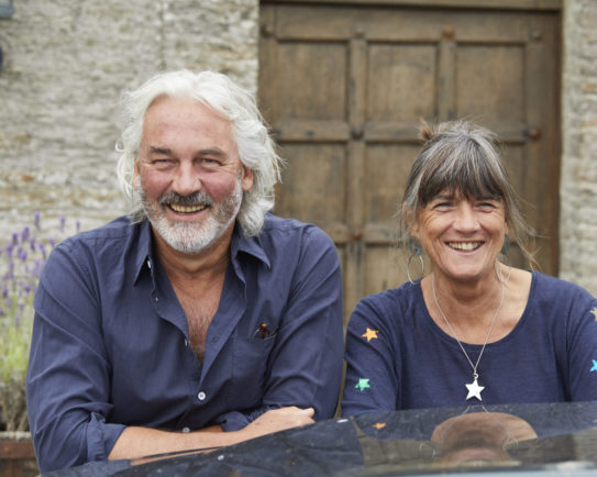 Living in harmony: grow it yourself –Robin and Judy Hutson, The Pig