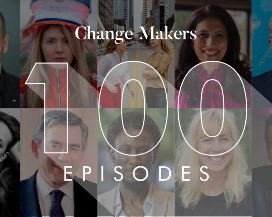 Celebrating 100 episodes of Change Makers